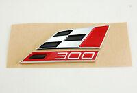 original Seat 300 Cupra Logo Schriftzug Emblem Zeichen badge Heck Raceflag