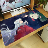 Anime Inuyasha Mouse Pad Higurashi Kagome Large Keyboard Desk Mat Game Playmat