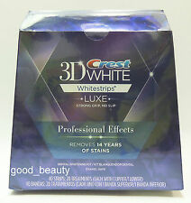 Crest 3D White Luxe Whitestrips Whitening Professional Effects 1 Box