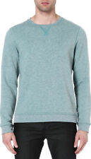 "TED BAKER""LOOCY"" GREEN CREW NECK SWEATSHIRT JUMPER UK 40/4 EU 50 BNWT RRP £69.00"