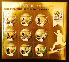 Lesotho 2010 SAPOA / Fifa World Cup Mini-Sheet, MNH