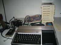 Texas Instruments TI-99/4A Lot Computer Application Games Manuals Untested