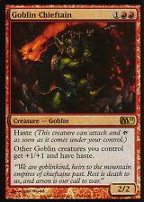 Goblin Chieftain foil | ex | m11 | Magic mtg