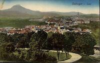 Hechingen Baden Württemberg Color Postkarte 1920 gelaufen Gesamtansicht Totale