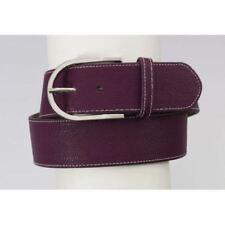 Ovation Elite Curved Show Belt Leather in Beautiful Colors/Silver Tone Buckle