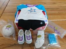 AMERICAN GIRL STAR VOLLEYBALL OUTFIT NEW IN BOX FREE SHIPPING RETIRED