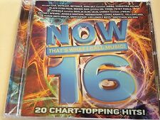NOW THAT'S WHAT I CALL MUSIC #16 CD U.S. SERIES FREE SHIPPING VG