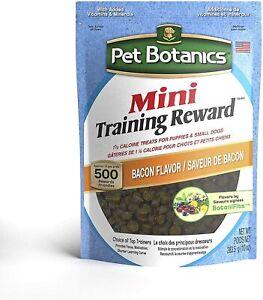 Pet Botanics Training Reward,Grain-Free Healthy Omega Treats ,Bacon Flavor ,10oz