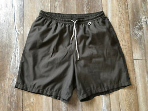 Loro Piana Mens Shorts Swim Brown Swimsuit Sz XL Auth Made In Italy