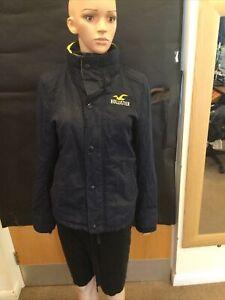 Hollister Black Long Sleeve Jacket - UK Ladies Size S