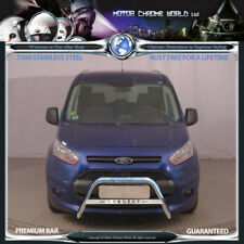 Ford Connect Chrome Nudge Logo A-bar en acier inoxydable Bull Bar 2014+Up (NXL1) NEUF