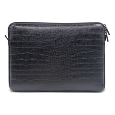 """Leather Notebook Laptop Sleeve Case Bag For 14"""" HP Dell 15.4"""" Apple MacBook Pro"""