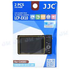 2 Sets High Transmission Kamera LCD Screen Film Protector Für Casio ex-10 ex-100