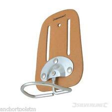 Workmans Builders Hammer Holder Loop Leather Sling Workwear Use On Belt  CB06