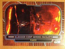Star Wars 2012 Galactic Files 2 #650 Klegger Corp Mining Facility Mint