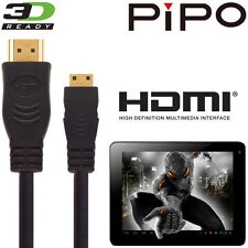 Pipo M7, M8 HD, M9 Pro, S1, U6 Android Tablet PC HDMI Mini TV 5M Lead Wire Cable