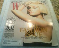 Jewelry W Magazine Fall 2006 THE FASHION ISSUE