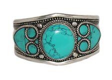 Turquoise Bracelet Cuff Bracelet Silver Bracelet Turquoise Bangle Tribal Boho