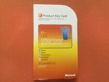 MICROSOFT  OFFICE 2010 HOME AND  BUSINESS PRODUCT KEY CARD (PKC) NEW SEALED