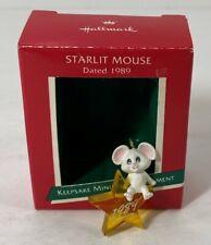 Hallmark Keepsake Miniature Ornament - Starlit Mouse, 1989