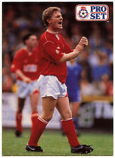 Micky Hazard Swindon Town #214 Pro Set Football 1991-2 Trade Card (C364)