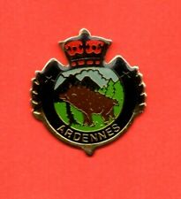 Pin's Lapel pin Pins Animal sauvage Sanglier Région les ARDENNES
