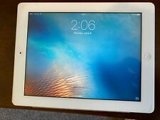 Apple iPad 3rd Gen. 64GB, Wi-Fi + Cellular (Verizon), White, Clean, No Scratches
