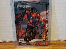 Darkhawk Marvel Upper Deck trading card signed by Stan Lee COA