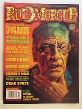 NEW-rue morgue magazine issue 83 october 2008-horror-famous monsters-simpsons