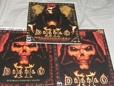 DIABLO 2 MANUALS SET OF 3 EXPANSION SET LORD OF DESTRUCTIONS, ULTIMATE STRATEGY