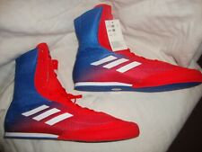New Men's Adidas Da9896 Box Hog Plus Boxing High Tops Shoes Boots Size 12 Red