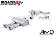 Milltek Seat Leon Cupra R 2.0 TSI Cat Back Exhaust Resonated SSXSE150