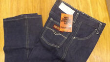 VTG Maverick Blue Bell Fashion Denim Blue Jeans 12 Reg NOS USA Made 26 x 27 #8