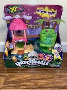 Hatchimals Tropical Party Playset BRAND NEW