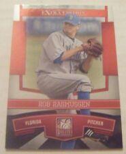 ROB RASMUSSEN UCLA BRUINS RC 2010 Donruss Elite baseball card BLUE JAYS MARINERS