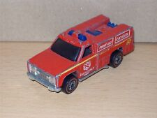 Emergency Squad rot Red Line Redliner HK Redline Hot Wheels HW Modell Auto Car