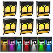 New listing Solar Lights Outdoor Led Solar Deck Lights Solar Powered Fence Lights Waterproof