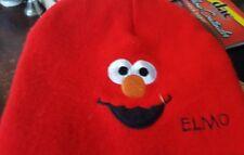 Beanie Hat Winter - Elmo toboggan SESAME STREET EUC