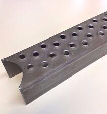 Leitersprossen Stahl ROH,  50x40x480mm,  gerundet für 48mm Rohr,  Steigleiter