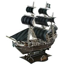 THE QUEEN ANNS REVENGE SHIP PIRATE Build Your Own Giant 3D Puzzle Jigsaw 155 PCS
