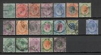 s22574) SOUTH AFRICA from 1913 VF Used - Collection of used stamps (as per scan)