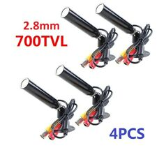 QTY4PCS 1/3inch 2.8mm 700TVL Color CCTV Security Mini Hidden Camera Wide Angle