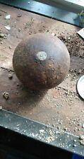 12lb Civil war cannon ball