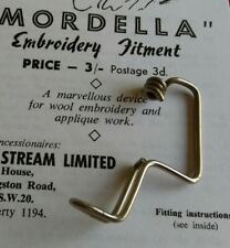 Vintage Mordella Embroidery Fitment / Attachment (with instructions)