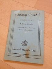 FERENC KARINTHY, STEINWAY GRAND. A PLAY IN ONE ACT. SMAUEL FRENCH INC