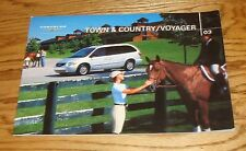 Original 2003 Chrysler Town & Country / Voyager Deluxe Sales Brochure 03