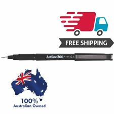 Artline 200 BLACK 0.4mm Fine Line Pens