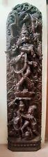 Lord Krishna Hindu Temple HUGE 6ft Sculpture Wooden Statue Figure Handmade Rare