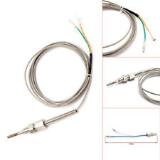 Exhaust Gas Temperature Sensor Cable Auto Temp Gauge Probe Sensors 1/8NPT Thread