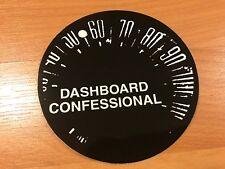 DASHBOARD  CONFESSIONAL Swiss Army Romance Promo STICKER Drive-Thru Records Emo